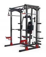 Palestra Multifunzione Rack Crossfit Pbx 8000 Professional con Lat Machine