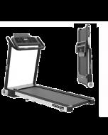Tapis Roulant TFX 2.7 Slim Black and Silver Salvaspazio Autolubrificante Bluetooth con App Offerta fino ad esaurimento scorte!