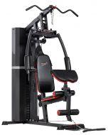 Palestra Multistazione HOME GYM gym ST 4700 Professional con 105 kg pacco pesi e Larry Scott
