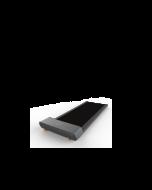 Tapis Roulant Walker DMT100i Flow Fitness Cod. FFD19501 walking pad mineral grey