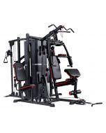 Palestra Multistazione HOME GYM gym ST 7200 Professional con 210 kg pacco pesi e Larry Scott